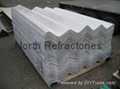 fiber cement corrugated roof tile
