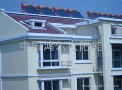 公寓別墅洗澡太陽能熱水器安裝廠家