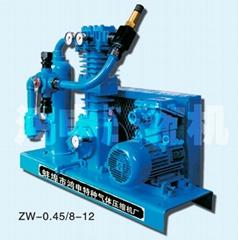 ZW-0.45/8-12液化气压缩机