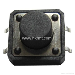 12x12x7.5 SMD Tactile Switch With Taping Packing