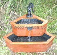 Corner Garden Water Fountains
