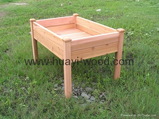 raised wood garden bed plans