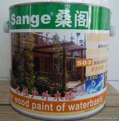 水性户外木漆