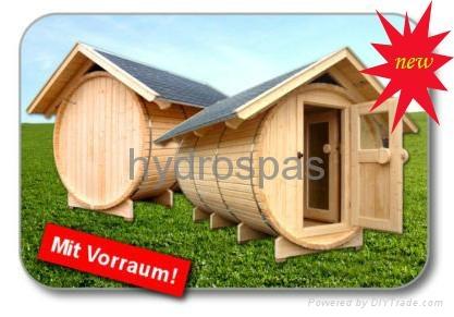 Barrel Shape Sauna Room/ Sauna  SR158 1