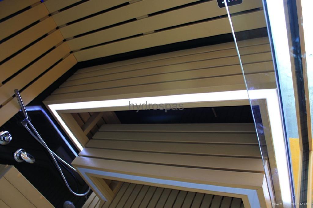 Multi-functional Sauna / Steam / Shower Combination 2