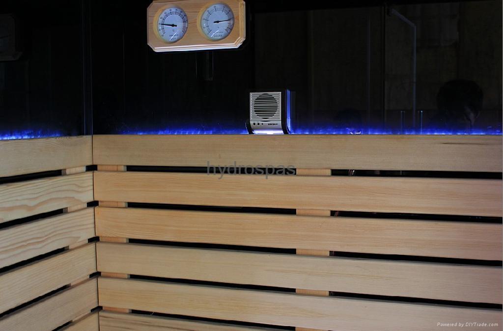 Multi-functional Sauna / Steam / Shower Combination 4