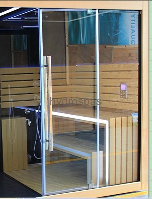 ... Multi Functional Sauna / Steam / Shower Combination 5