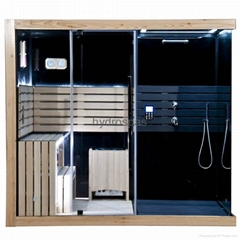 New Design Sauna / Shower Combinated