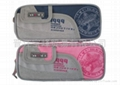 Zippered pencil pouch for stationery 2