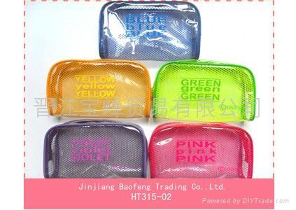 PVC pencil case for girls 5