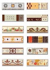 Guaranteed 100%,Ceramic border line,wall tiles