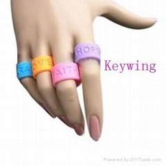 silicone thumb ring
