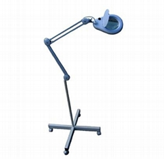 Floor Stand with The Devon Magnifying Lamp