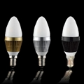 Dimmable LED candle light bulb for
