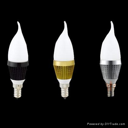 Dimmable LED candle light bulb for Chandelier 3
