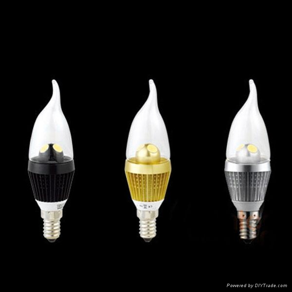Dimmable LED candle light bulb for Chandelier 4