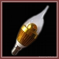 Dimmable LED candle light bulb for Chandelier 5