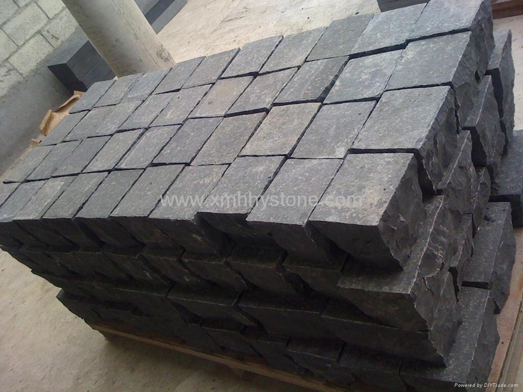 Basalt Stones Product : Basalt blue stone paving hhy china