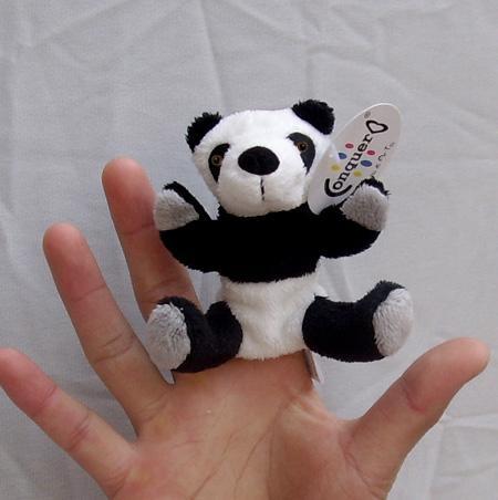Finger puppet panda 1
