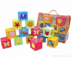 Educational dice toys