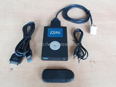 Bluetooth mp3 car kit for iPod