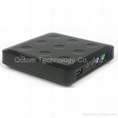 Qotom-N23 電腦共享器 網線連接