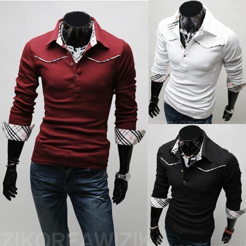 Slim Fit Mens Casual Shirts