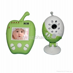 2.5inch wireless video baby monitor