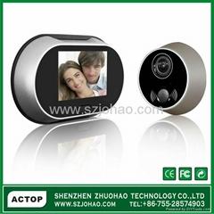 3.5inch digital video door peephole viewer