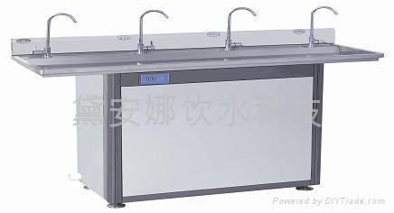 节能型温热4龙头净水直饮水机 1
