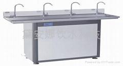 节能型温热4龙头净水直饮水机