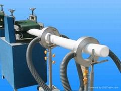 PE foam pipe extrusion machine