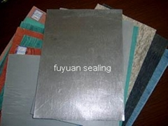 Wire Reinforced Asbestos Rubber Sheets (coated with graphite)