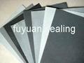 Non-asbestos latex paper sheet
