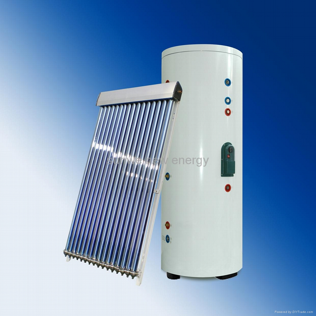 Solar Water Heating New System 150 Litre Pumped System With Pictures  #043885