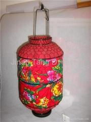 Prevent Burning Fabric Cover Lantern