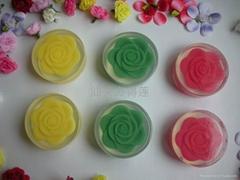 供应高品质手工内嵌玫瑰礼品皂