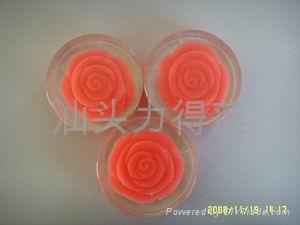 供應高品質手工內嵌玫瑰禮品皂 3