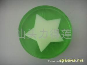 供應高品質手工內嵌玫瑰禮品皂 4