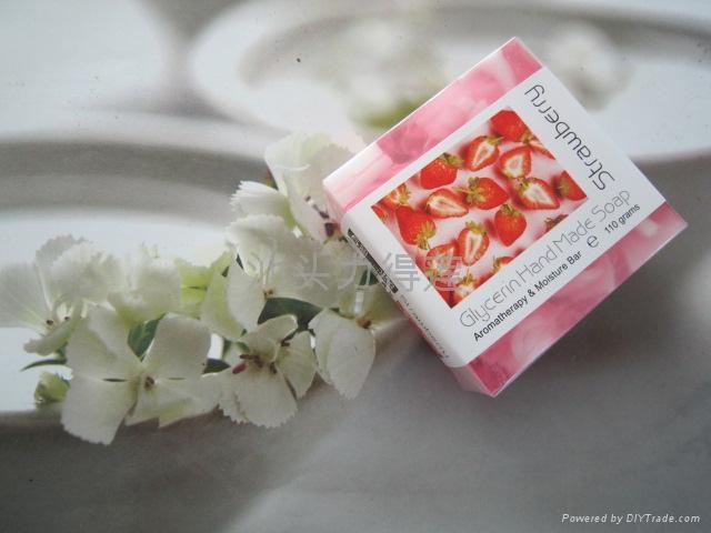 供应110g正方形水果夹心皂 2