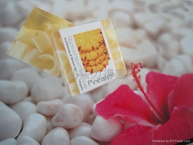 供应110g正方形水果夹心皂 4