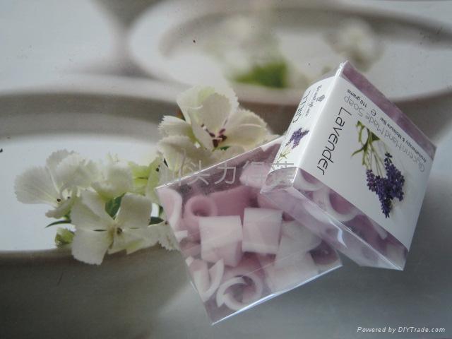 供应110g正方形水果夹心皂 5