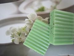 供應純天然茶樹消炎殺菌潔膚皂