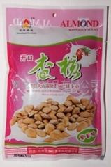 Open almond