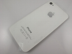OEM glass white backcover replacement for Apple iPhone 4