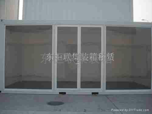 上海集裝箱展示櫃 1