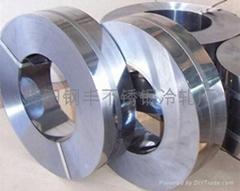 佛山410不锈钢材料BA/2B压延改轧钢带