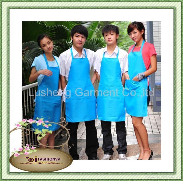 Advertising apron,kitchen apron,cooking apron,cotton apron 3