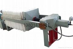 電鍍污水處理隔膜壓濾機