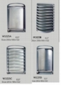 outdoor wall light , bulkhead light ,